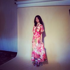 Kaleidoscope Dress photo shoot! #urbanoutfitters