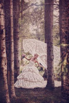 Bridal portrait idea.