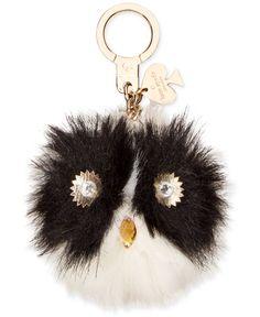 Debating if I should get this or not. kate spade new york Pom Pom Keychain Pom Pom Owl, Owl Keychain, Handbag Accessories, Kate Spade, Bling, York, Handbags, My Style, Key Chain