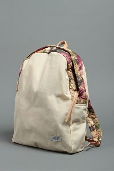 Draught Dry Goods Waxed Daily Backpack - Quilted Floral