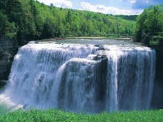 Waterfall, Letchworth State Park, New York
