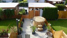 Michael, Rangsdorf, Deutschland - Hot Tub Backyard, Garden Design Plans, Landscape Plans, Garden Landscaping, Landscaping Ideas, Jacuzzi, Garden Planning, Spa, Patio