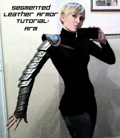 Segmented Leather Armor Tutorial: Arm
