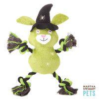Martha Stewart Pets™ Vampire Beaver/Witch Bunny Rope Dog Toy - PetSmart