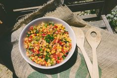 Chickpea Tabouleeh Salad // A healthy salad that can be chilled and served at your next Barbecue // http://desiredcooking.com/recipes/chickpea-tabouleeh-salad