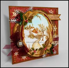 Stampendous - Christmas Cottage