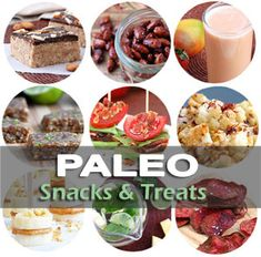 Paleo Snacks & Treats - These healthy Paleo snack recipes will help you avoid being tempted to eat unhealthy foods high in sugar & carbs Banting Diet, Banting Recipes, Paleo Recipes Easy, Yummy Recipes, Healthy Sugar, Healthy Snacks, Paleo Diet Plan, Paleo Food, Bread Alternatives