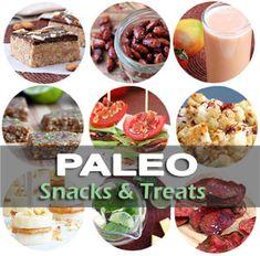 Paleo Healthy Snacks & Treats