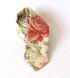 Capulet's Garden Floral Necktie by Lonesome Traveler on Scoutmob Shoppe