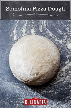 A little semolina goes a looooong way in lending this dough an easy-to-knead workability and a surprisingly tooth-sinking texture. (You heard us. Tooth-sinking.) #pizza #pizzadough #semolina Pizza Recipes, Cooking Recipes, Bread Recipes, Chicken Recipes, Dinner Recipes, Semolina Pizza Dough, Creative Pizza, Easy Pizza Dough, Savory Muffins