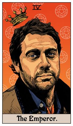 The Winchester Family Business - Inspired by Supernatural: Tarot Cards by Britanee Supernatural Fans, Supernatural Drawings, Supernatural Wallpaper, Castiel, Supernatural Crafts, Fanart, John Winchester, Major Arcana, Angels And Demons