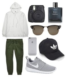 """""""Untitled #81"""" by wleners on Polyvore featuring River Island, Mr. Completely, adidas, NIKE, Fujifilm, Native Union, Tom Ford, Chanel, men's fashion and menswear"""