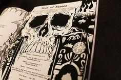 "fanzine metal by ged ""dead church X"""