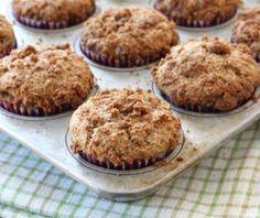 Muffins de Manzana y Nueces