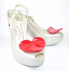 Melissa Ultragirl Heel Wedding. Vivienne Westwood Anglomania  . These beautiful high heels are part of Vivienne Westwood's exclusive Anglomania designs for Melissa. We will help you find it! Be sure to add me to yourfavorites list ! | eBay!