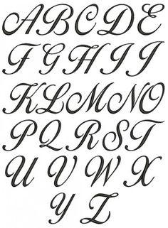 No 135 LG Lara Script Embroidery Monogram Designs Includes 26 Uppercase Letters