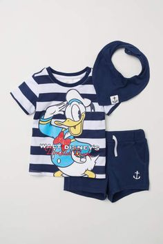 With our matching sets and bodysuits in soft cotton velour and jersey, it's easy to keep your baby boy comfy and cute in our bold colours and adorable print Twin Baby Clothes, Disney Baby Clothes, Baby Boy Clothing Sets, Disney Outfits, Toddler Fashion, Toddler Outfits, Baby Boy Outfits, Kids Outfits, Kids Fashion
