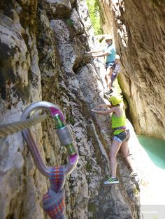 Via Ferrata route at Karpenisi has it all. Forests, rivers, canyons, climbing and terrific scenery. Greece, Scenery, River, Adventure, Take Risks, Greece Country, Landscape, Rivers, Landscapes