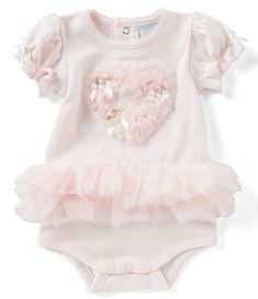 Edgehill Collection Baby Girls months Heart Ruffled Tutu Bodysuit – Baby For look here Twin Outfits, Little Girl Outfits, Newborn Outfits, Little Girl Fashion, Toddler Girl Style, Toddler Girl Outfits, Toddler Fashion, Kids Outfits, Toddler Girls