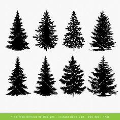 Popular items for tree clip art on Etsy