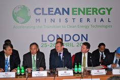 Secretary of State Edward Davey, Minister of State Greg Barker and US Energy Secretary Steven Chu at the third Clean Energy Ministerial event in London (25 April 2012)     Everything you need to know about renewable energy learn more at www.self-sustainable-living.com
