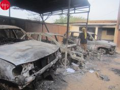 """Niger: """"They set fire to our churches. Persecution, Christianity, Fire, Africa"""