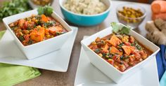 Yam Chickpea Spinach Curry-okay at first-don't know that I'll make again