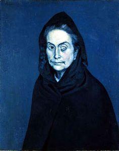 """""""La Celestine"""" in 1904 by Pablo Picasso."""
