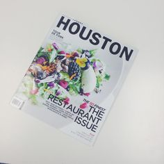 TABLE on Post Oak is in this month's @HoustonModLux. We've picked up our copies, have you? #RestaurantIssue