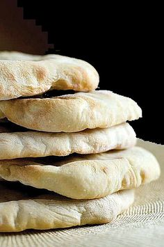 Pita Breads by Culinary Travels