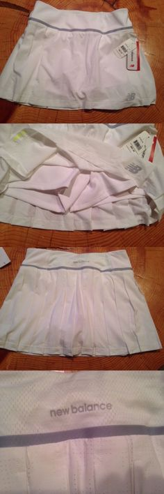 Skirts Skorts and Dresses 70901: New Balance Wtk5155 Tournament Skort Tennis Women S Small White Nwt -> BUY IT NOW ONLY: $49.75 on eBay!