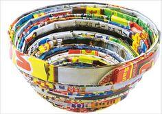 Upcycling: Schalen aus Altpapier basteln | geo