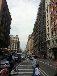 Barcelona streets, Spain