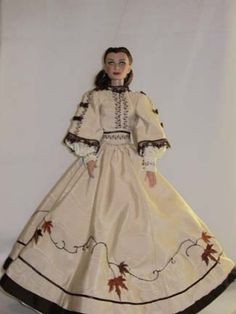 """Scarlett O'Hara """"Ivy Gown"""" Unused Costume Gown"""