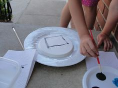 How to create a Plaster of Paris fresco with kids (and learn about Leonardo Da Vinci along the way). Art History Lessons, Art Lessons, Elementary Art Rooms, 3rd Grade Art, Art Curriculum, Painting For Kids, Art For Kids, Preschool Art, Art Club