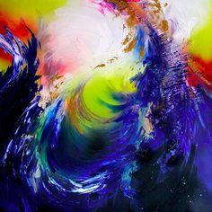 Melissa S McCracken   Synesthetic Artist   2015 Shine on, you crazy diamond