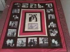 Photo Memory Quilts - some great ideas here