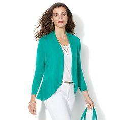 IMAN Global Chic Luxury Resort Lightweight Cardigan