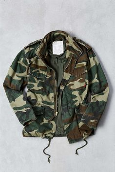 Rothco Washed Camo M65 Jacket - Urban Outfitters