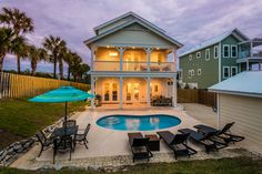Gulf Views from Floor Balcony! Easy Walk to the Beach! Town Names, Heated Pool, Beach Town, Blue Mountain, Private Pool, New Construction, Swimming Pools, Florida, The Incredibles