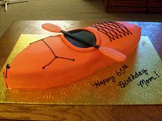 kayak birthday cakes - Google Search