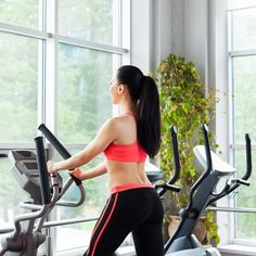 Tone Your Butt While Torching Calories With This Elliptical Workout: Save time at the gym and power up your cardio to do double duty with this elliptical workout. #cardioworkoutelliptical #cardioelliptical