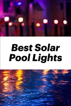 Lighting your pool doesn't have to be expensive or harm the environment. Find yourself the perfect solar pool lights to match your needs, style, and budget. When choosing the lights for your swimming pool, you want to keep the pool area safe and well-lit, to help prevent accidents, whilst also making the poolside as welcoming and attractive as possible. Solar Pool Rings, Solar Pool Lights, Floating Pool Lights, Light Cycle, Pathway Lighting, Ball Lights, Unique Lighting, Renewable Energy, Pathways