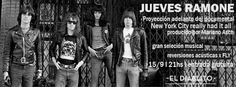 "JUEVES RAMONE  HEY HO LETS GO TO EL DIABLITO   Este jueves 15 de septiembre en El Diablito se va a proyectar un adelanto del documental ""New York City Really Had It All"" de Mariano Asch. También se van a poder ver imágenes de una visita al Museo Ramone Forest Hills Queens de Julio de 2016 y va a cerrar la noche Fly interpretando versiones acústicas de Los Ramones. NEW YORK CITY REALLY HAD IT ALL es un documental único proyecto del fan y periodista especializado Mariano Asch mostrando todas…"