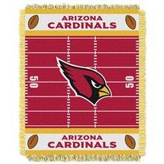 Arizona Cardinals Baby Blanket Bedding Throw 36 x 46