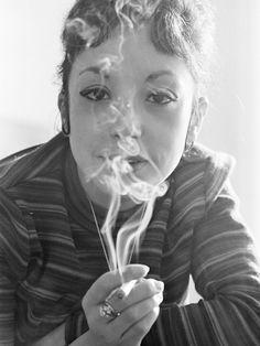 Albertine Sarrazin par Lucien Clergue