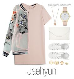 """Nighttime date // Jaehyun"" by suga-infires ❤ liked on Polyvore featuring MANGO, Pamela Love, ASOS, Style & Co. and Kate Spade"