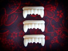Halloween Soap  Vampire Teeth Soap  Fake by SymbolicImports