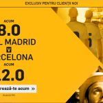 Real Madrid vs. FC Barcelona – cote mult marite