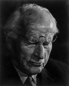 Carl Jung by Yousuf Karsh Carl Jung, Great Photographers, Portrait Photographers, Portraits, Yousuf Karsh, Gustav Jung, Red Books, Head & Shoulders, Medical